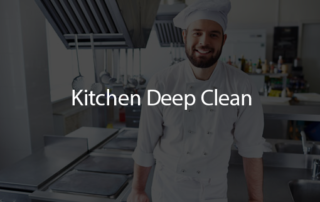 Kitchen Deep Clean