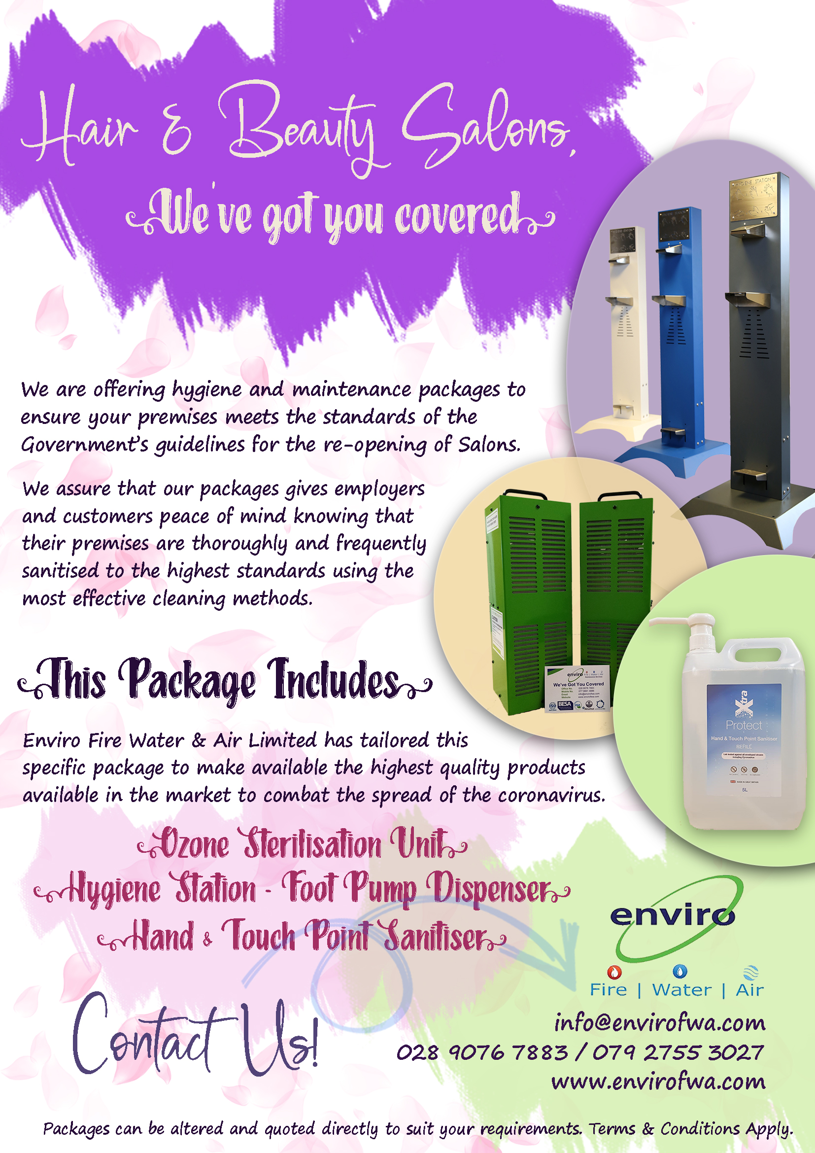 Hair Beauty Enviro Package
